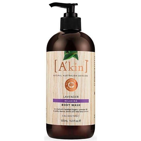 A'kin Lavender Body Wash (500ml)