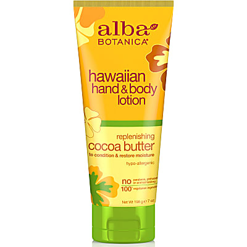 Alba Botanica Hawaiian Cocoa Butter Hand & Body Lotion