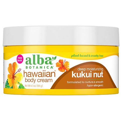 Alba Botanica Hawaiian Kukui Nut Body Cream