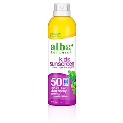 Alba Botanica Suncare Kids Clear Spray SPF50