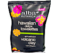 Alba Botanica Volcanic Clay Towelettes (30 wipes)