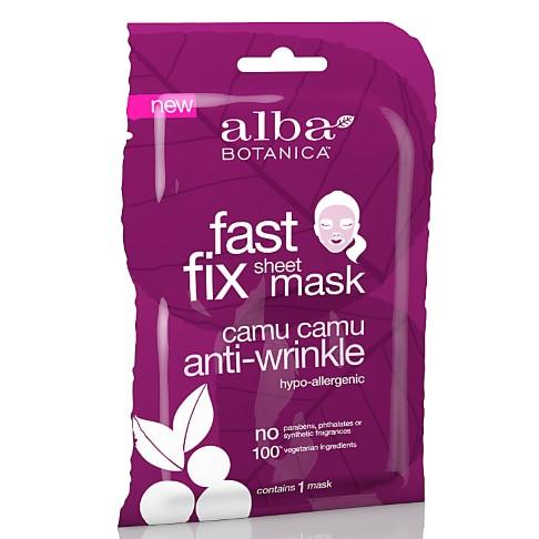Alba Botanica Camu Camu Anti-Wrinkle Sheet Mask