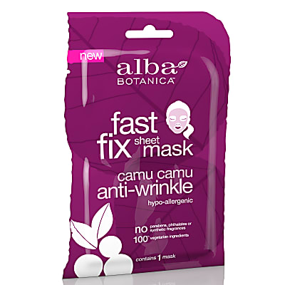 Alba Botanica Camu Camu Anti-Wrinkle Sheet Mask