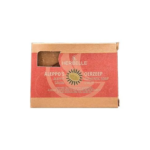 Aleppo's Oerzeep olijfolie met 16% laurierolie 180g