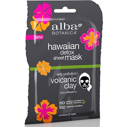 Alba Botanica Volcanic Clay Detoxifying Sheet Mask