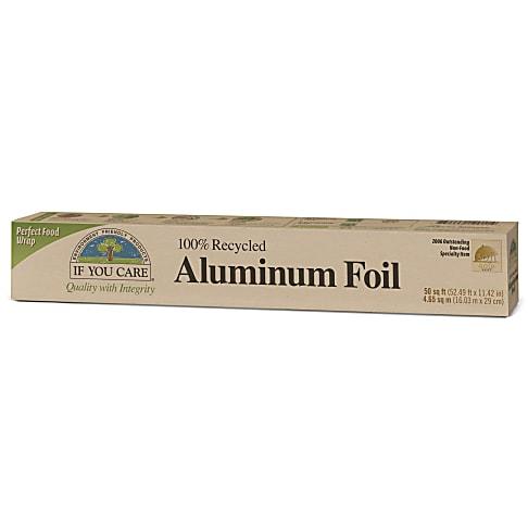 If You Care 100% Gerecycled Aluminiumfolie