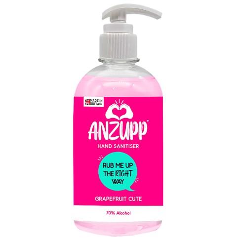 ANZUPP Pink Hand Sanitiser 500ml