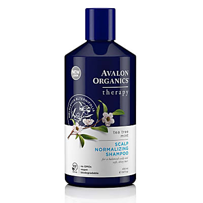 Avalon Organics Tea Tree Mint Therapy Scalp Normalising Shampoo