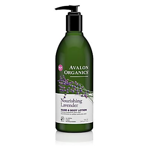 Avalon Organics Hand & Bodylotion - Lavendel (rustgevend)