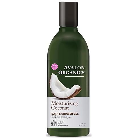 Avalon Organics Moisturizing Coconut Bath & Shower Gel