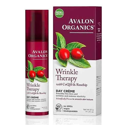 Avalon Organics CoQ10 Anti-Rimpel Dagcrème