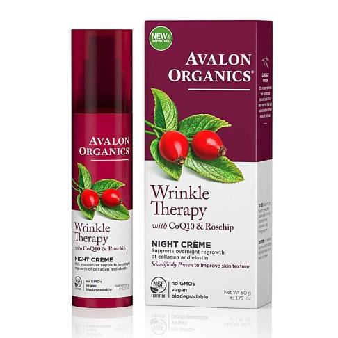 Avalon Organics CoQ10 Defence Anti-Rimpel Nachtcrème