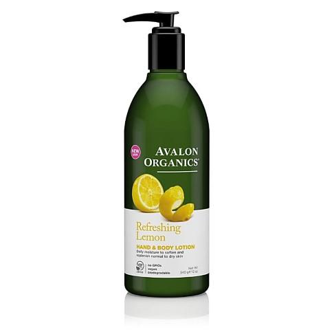 Avalon Organics Hand & Bodylotion - Citroen (verfrissend)