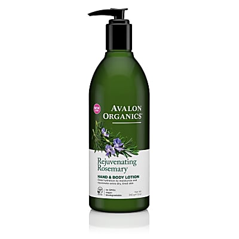 Avalon Organics Hand & Bodylotion - Rosemarijn (verjongend)
