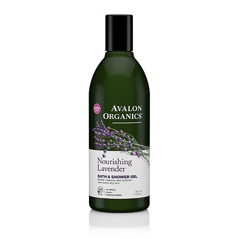 Avalon Organics Bad & Douchegel Lavendel (rustgevend)