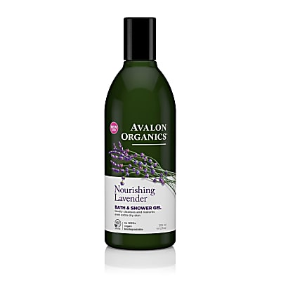 Avalon Organics Bad & Douchegel Lavendel (rustgevend)
