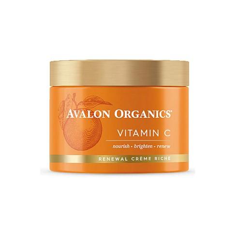 Avalon Organics Vitamine C Gezichtscrème