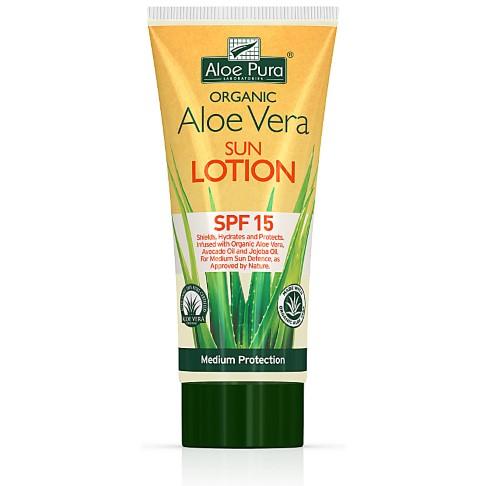 Aloe Pura Aloe Vera Sun Lotion SPF15