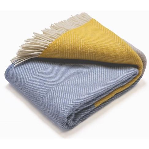 Atlantic Blankets 100% Wollen Deken - Dawn Tides