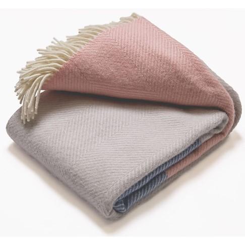 Atlantic Blankets 100% Wollen Deken - Dusk Tides