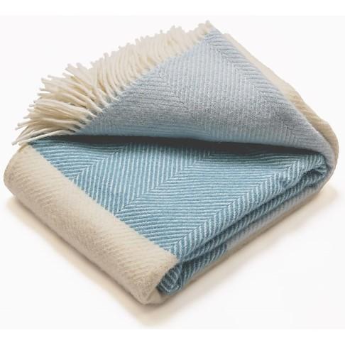 Atlantic Blankets 100% Wollen Deken - Noon Tides