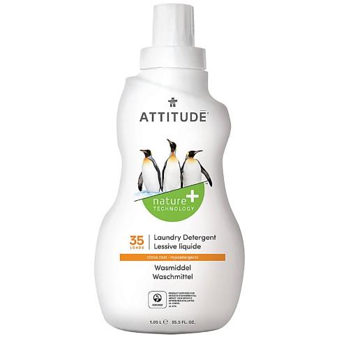 Attitude Vloeibaar Wasmiddel Citrus Zest (35 wasbeurten)
