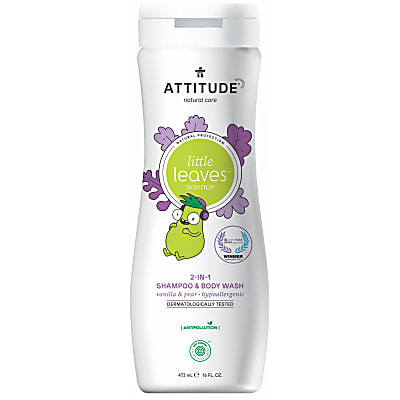 Attitude Little Leaves 2 in 1 Shampoo - Vanille & Peer