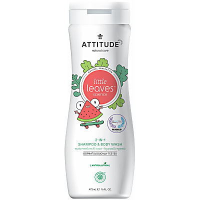Attitude Little Leaves 2 in 1 Shampoo - Watermeloen & Kokosnoot