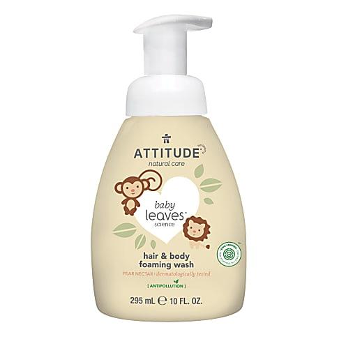 Attitude baby leaves 2-in-1 Shampoo & Douchegel - Peer Nectar
