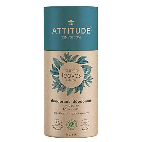 Attitude Super Leaves Deodorant - Geur vrij