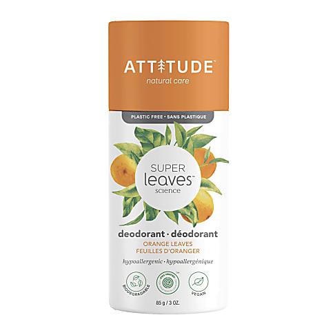 Attitude Super Leaves Deodorant - Orange