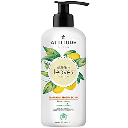 Attitude Super Leaves Natuurlijke Handzeep - Lemon Leaves