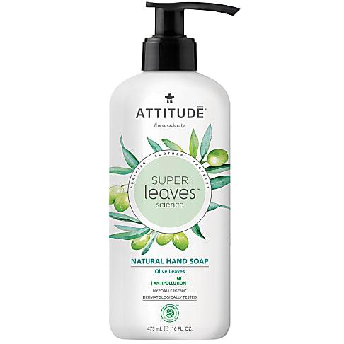 Attitude Super Leaves Natuurlijke Handzeep - Olive Leaves