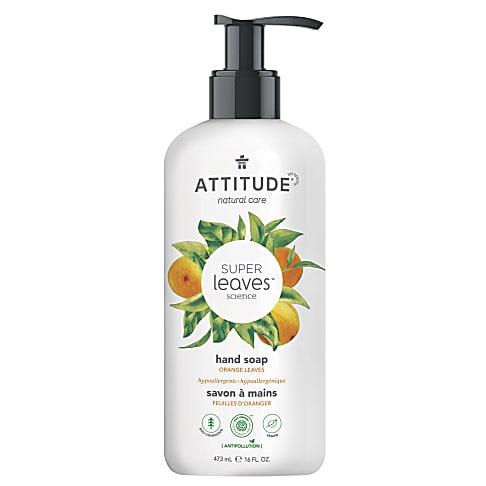 Attitude Super Leaves Natuurlijke Handzeep - Orange Leaves