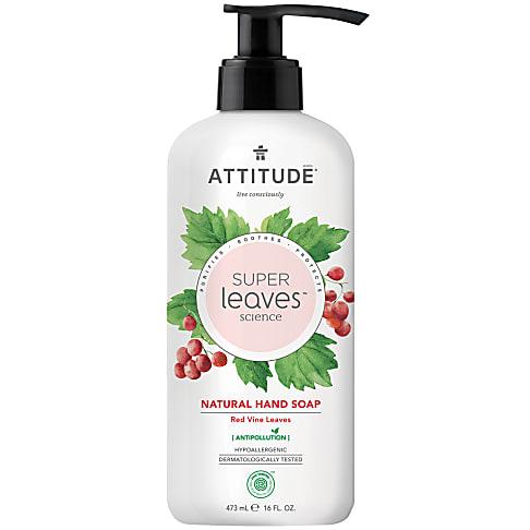 Attitude Super Leaves Natuurlijke Handzeep - Red Vine Leaves
