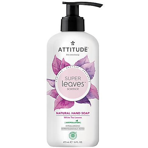 Attitude Super Leaves Natuurlijke Handzeep - White Tea Leaves