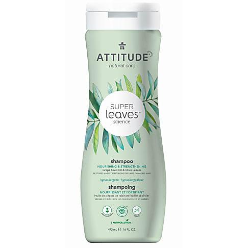 Attitude Super Leaves Natuurlijke Shampoo - Nourishing & Strengthening (droog haar)