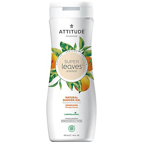 Attitude Super Leaves Natuurlijke Douchegel - Energising