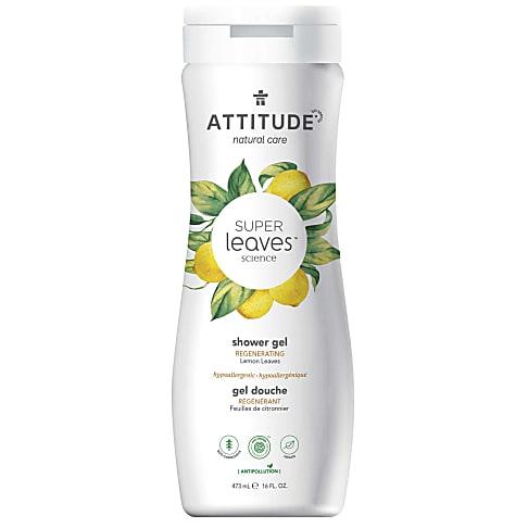 Attitude Super Leaves Natuurlijke Douchegel - Regenererend