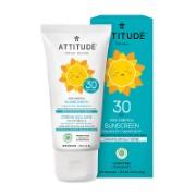 Attitude Baby & Kids Zonnebrandcrème SPF 30 - Parfumvrij (75g)