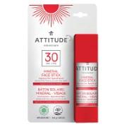 Attitude Zonnebrand Stick Gezicht Zonder Parfum - SPF 30
