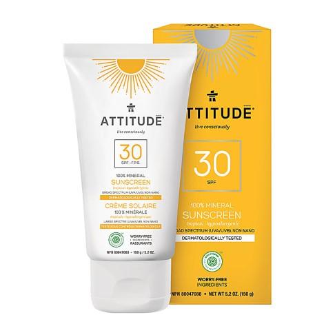 Attitude Minerale Zonnebrandcrème SPF 30 - Tropical