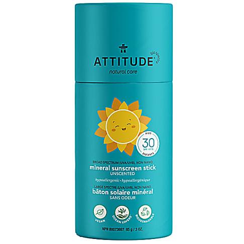 Attitude Baby & Kids Zonnebrand Stick Parfumvrij - SPF 30
