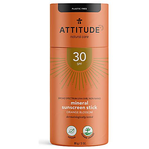 Attitude Zonnebrand Stick Oranjebloesem - SPF 30