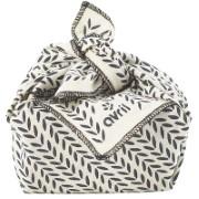 Avril Furoshiki Cadeau verpakking - Blad