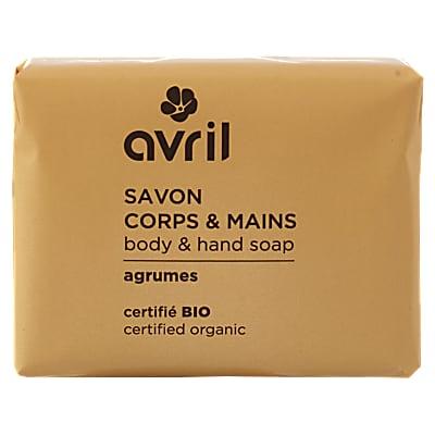 Avril Avril Lichaams- & Handzeep Citrus (100g)