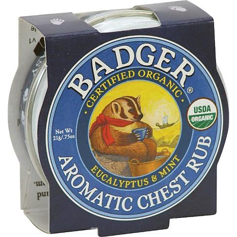 Badger Vrijer Ademen Balsem