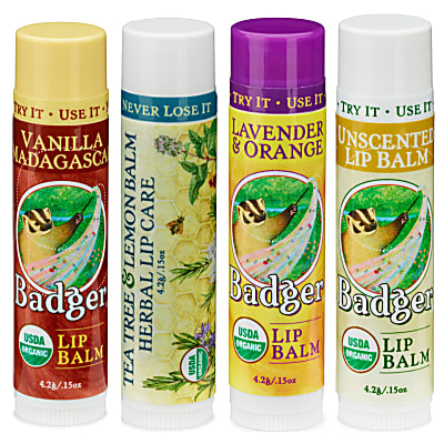 Badger Certified Organic Lippenbalsem Sticks