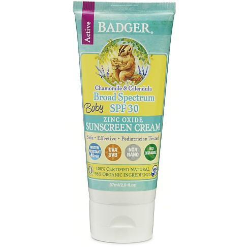 Badger Zonnebrandcrème voor Baby - SPF30