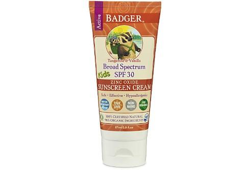 Badger Suncreen for Kids - SPF30 - vervaldatum 4/18